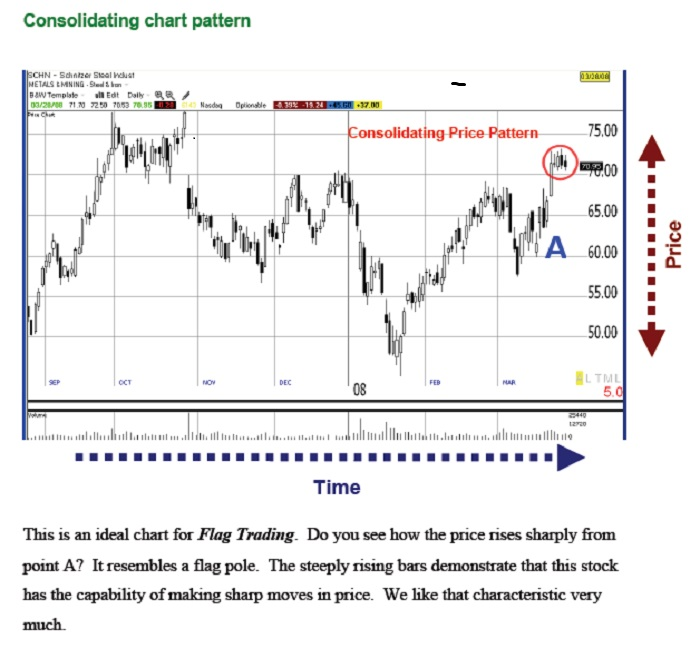 Flag Trader- Consolidation Pattern