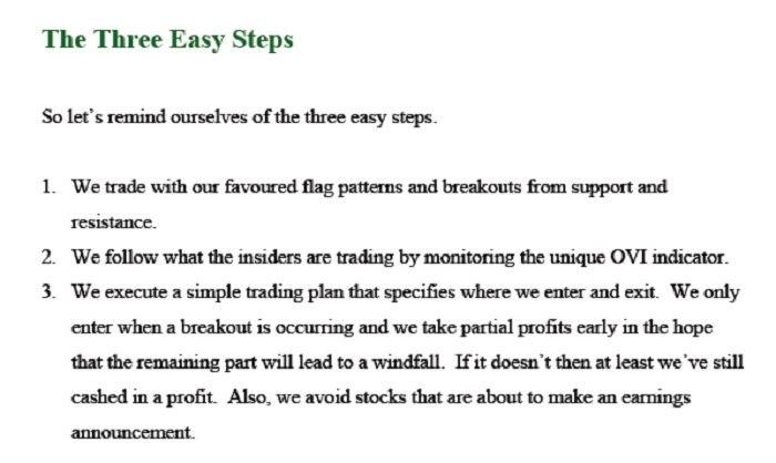 Flag Trader-Three Easy Steps